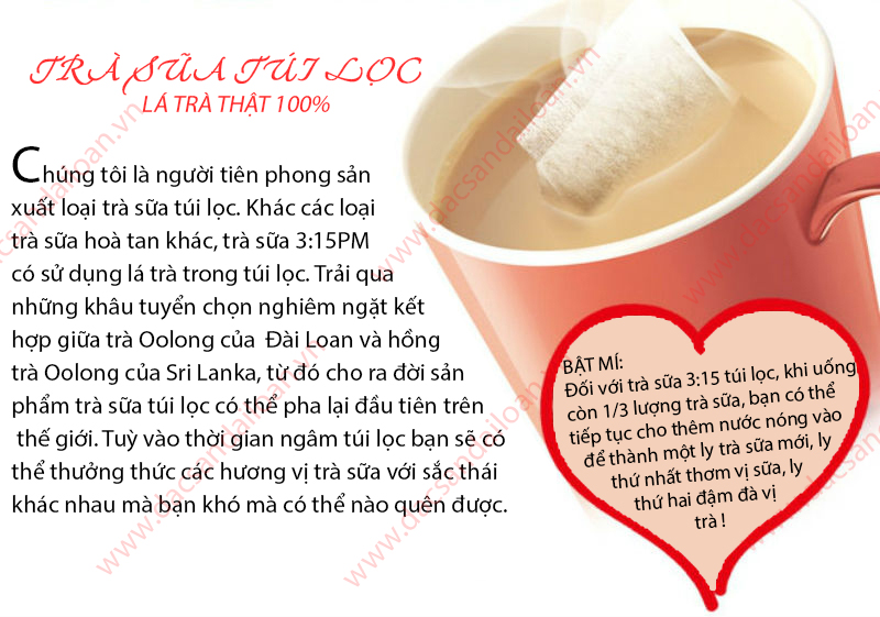 trà sữa 3:15PM
