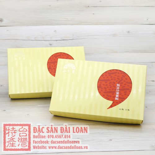Banh dau do trung muoi Yu Jan Shin
